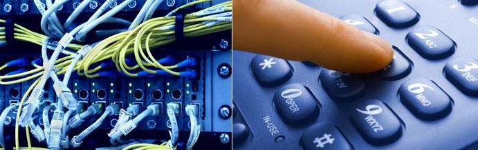 telekommunikation, Notebooks, Telefone oder komplette IT-Infrastrukturen